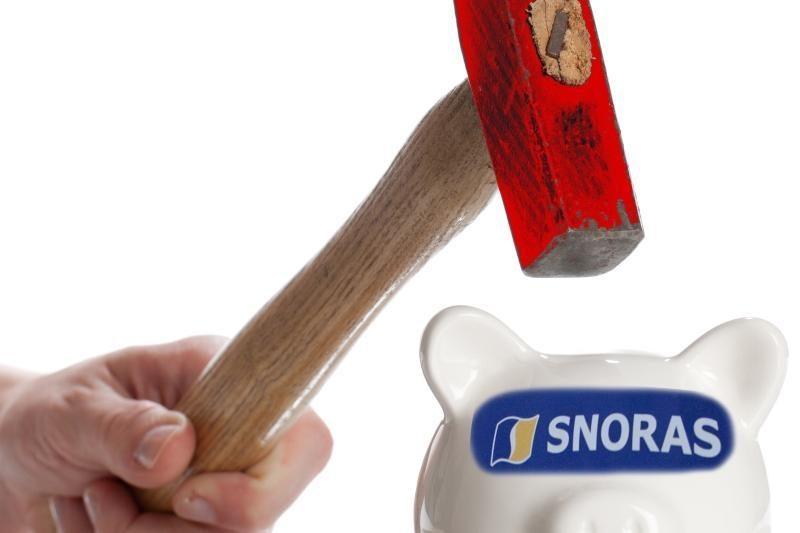 """LB: """"Snorui"""" analogiškų atvejų dėl turto kituose bankuose nėra"""