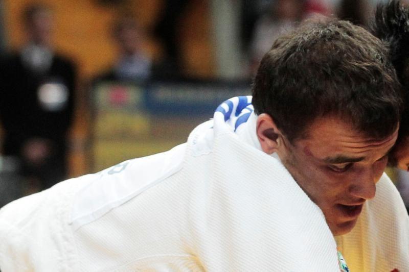K.Bauža įveikė prancūzą ir kovos aštuntfinalyje
