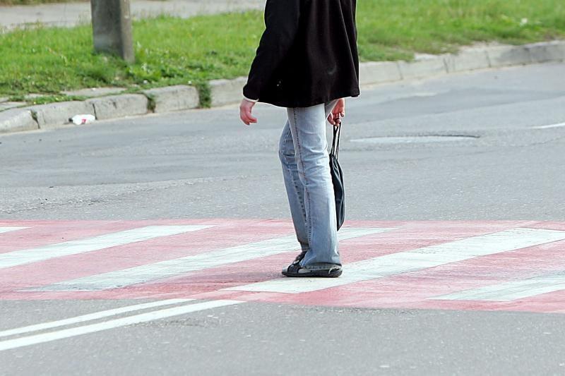 Panevėžio rajone pervažiuotas pėstysis
