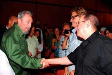 Buvęs Kubos lyderis F.Castro vėl pasirodė visuomenėje