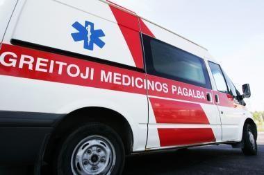 15-mečio dviratininko sužalojimu įtariamas policininkas – ligoninėje