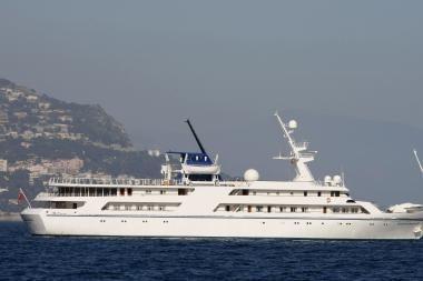 Už diktatoriaus jachtą tikimasi gauti dešimtis milijonų