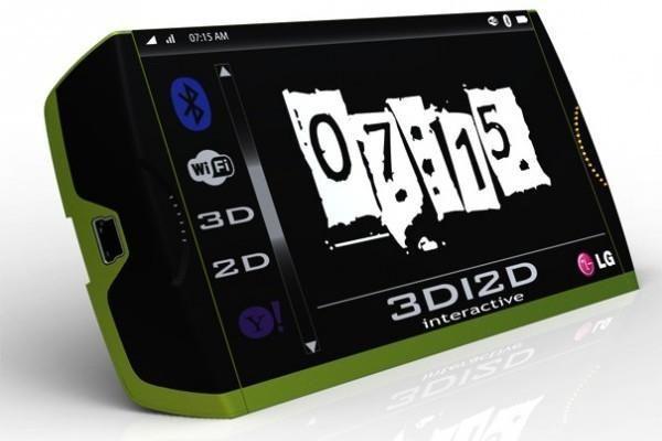 Įspūdinga LG 3D telefono koncepcija