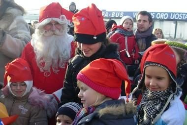 Į Lietuvą atvyko suomių Kalėdų senis Joulupukki