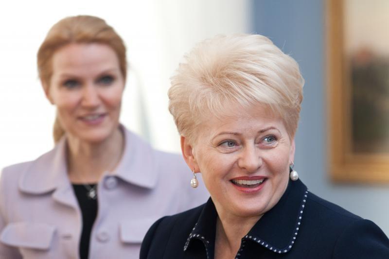Prezidentė: Danijai teks atsakomybė suvaldyti ekonominę situaciją