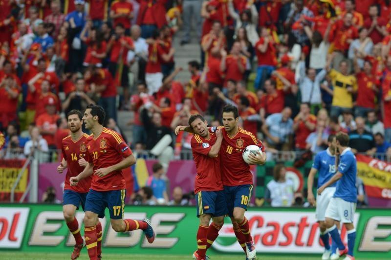 UEFA Euro 2012 turnyrą čempionas pradėjo lygiosiomis su italais