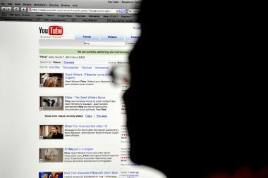 """""""YouTube"""" siūlo vaizdo medžiagos nuomą"""