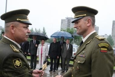 Vilniuje įvyko KASP vadų pasikeitimo ceremonija