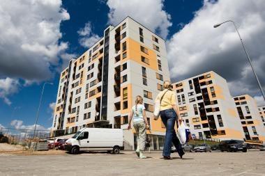 Naujų butų pasiūla Vilniuje ir Kaune mažėjo daugiau nei trečdaliu