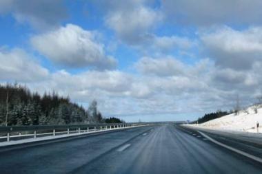 Pietų Lietuvoje snyguriuoja, Vakarų - pusto pažeme