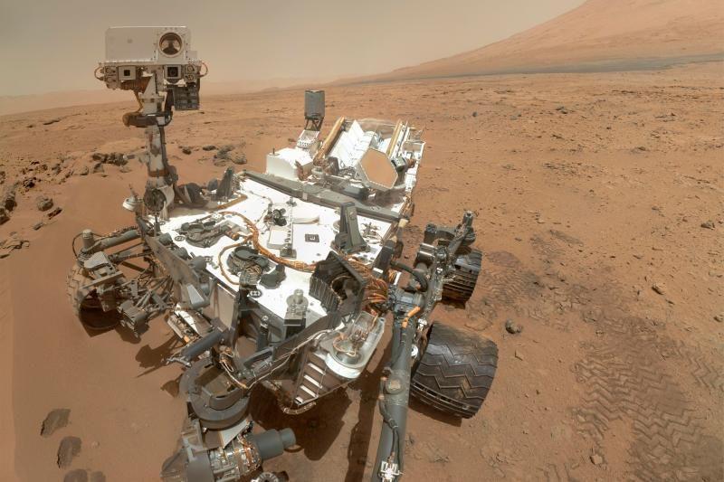"""""""Curiosity"""" Marse atrado organinių medžiagų pėdsakų"""