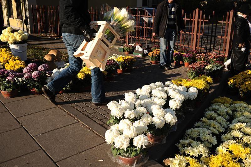 Ne visi gėlių pardavėjai moka mokesčius