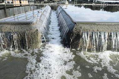 Pernai į paviršinius vandenis išleista 14 proc. daugiau nuotekų
