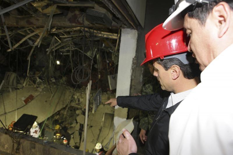 Meksikoje per sprogimą naftos būstinėje žuvo 25 žmonės