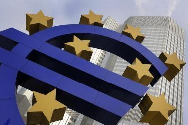 ECB nepakeitė bazinių palūkanų normų