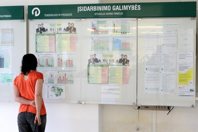 Daugiausia darbo pasiūlymų – Vilniuje, Kaune ir Šiauliuose