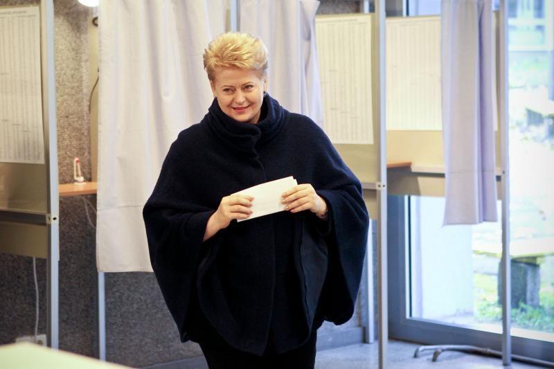 Prezidentė: AE nauda abejoja mažiau nei trečdalis visų rinkėjų