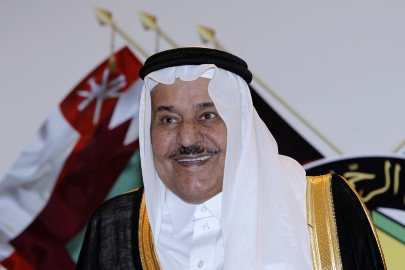 Mirė Saudo Arabijos sosto įpėdinis princas Nayefas