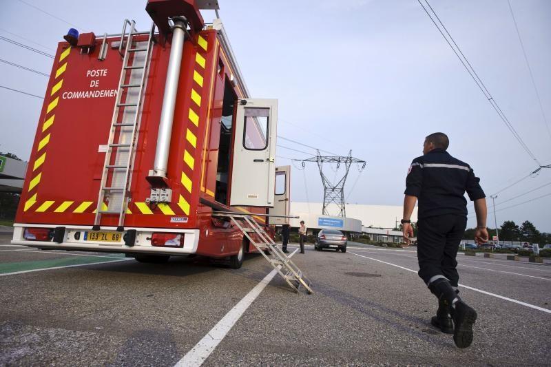 Per incidentą Prancūzijos atominėje elektrinėje nukentėjo darbuotojai