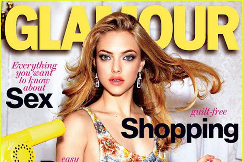 """Amanda Seyfried papuošė """"Glamour"""" viršelį"""