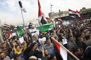 Irakiečiai reikalauja paleisti drąsuolį žurnalistą