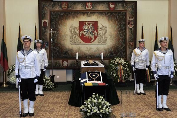 Prezidento laidotuvėse – ir Klaipėdos delegacija