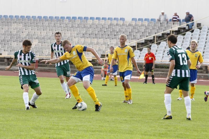 """Čempionatui užregistruoti 24 """"Atlanto"""" futbolininkai"""