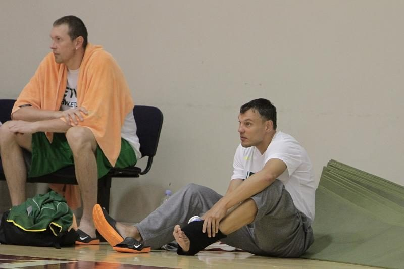 """Krepšininkai Hjustone rado laiko stebėti """"Euro 2012"""" pusfinalį"""
