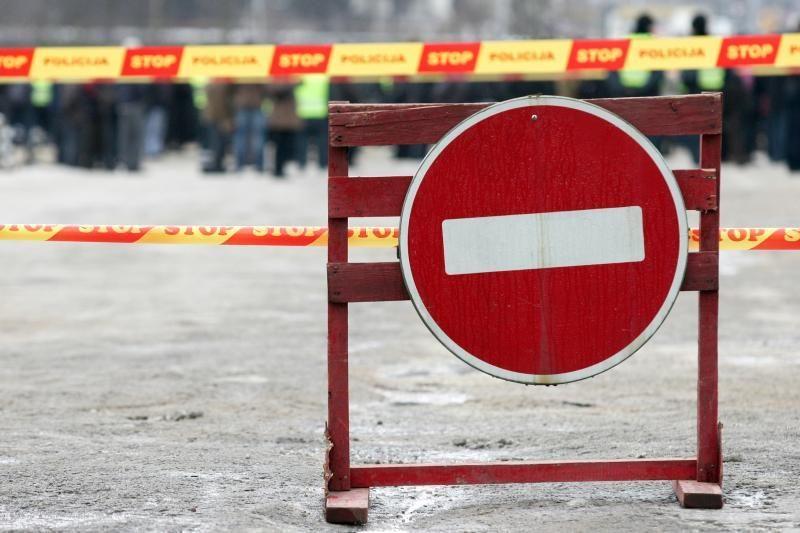 Šeštadienį bėgimo su Ž. Balčiūnaite metu bus ribojamas eismas (bėgimo trasa)