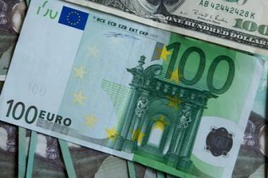 Euro zonos mokėjimų balanso deficitas liepą siekė 3,8 mlrd. eurų