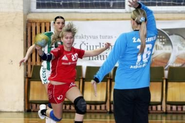 Moterų rankinio lygos pusfinalis - be žalgiriečių