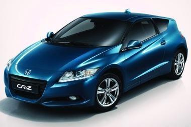 """Europietiškasis """"Honda CR-Z"""" – su šviesos diodų žibintais"""
