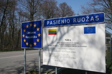 Klaipėdietis į Kaliningradą važiavo vogta mašina