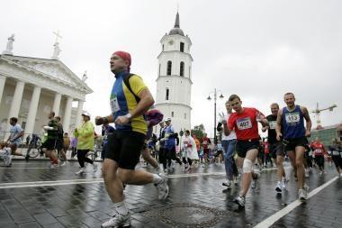 Dalyvio Vilniaus maratone mokestis sekmadienį išaugs iki 200 litų