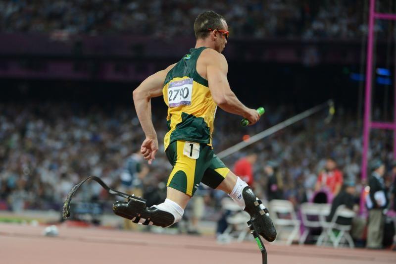 Atletas amputuotomis kojomis didžiuojasi savo pasiekimais olimpiadoje