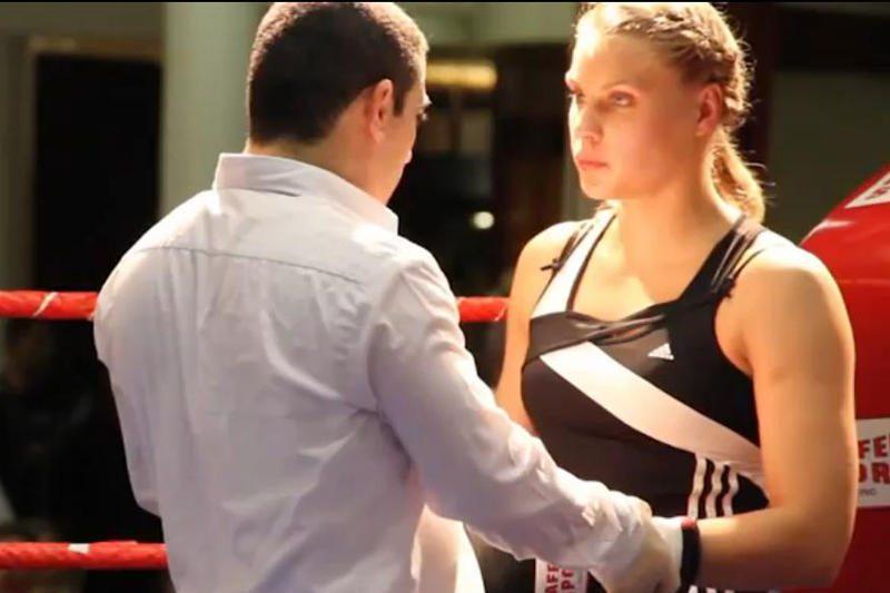 Lietuvos boksininkė G.Dailydaitė - pasaulio profesionalų čempionė