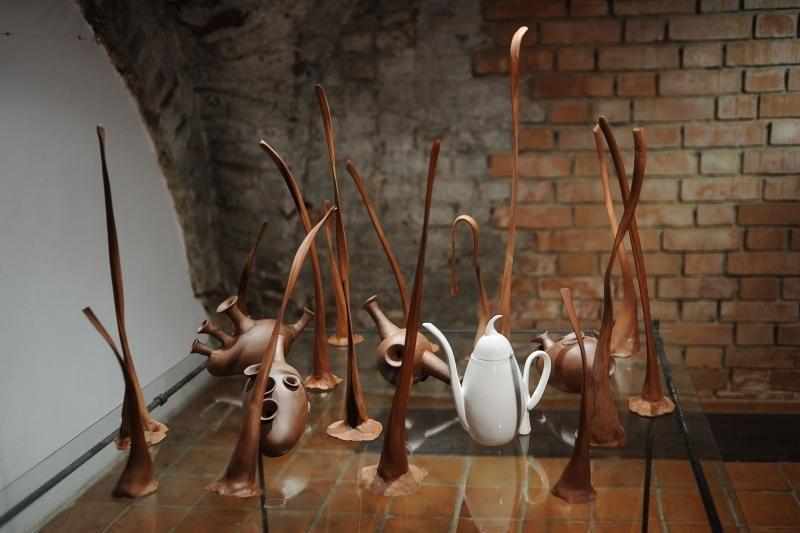 Jaunųjų keramikų darbuose svarbiausia – idėja