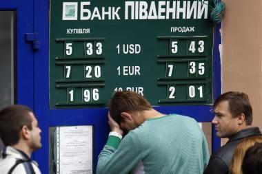 Ukrainos valstybės skola šiemet gali išaugti iki 44,2 proc. BVP