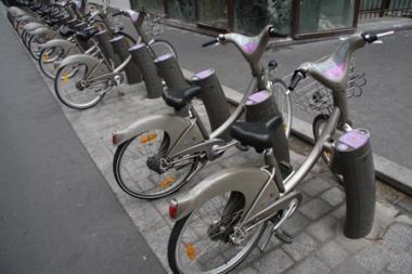 Iš mokesčio už įvažiavimą į senamiestį - mokamų dviračių nuoma