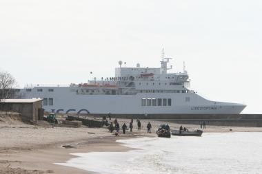 ES finansuos Lietuvos ir Švedijos jūrų greitkelių projektą