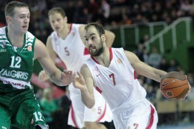 """Eurolyga: """"Olympiakos"""" – """"Žalgiris"""" 78:64"""