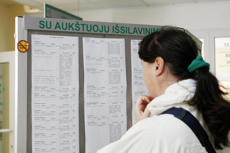Lietuvoje darbo neturi dešimtadalis 15-24 metų amžiaus gyventojų
