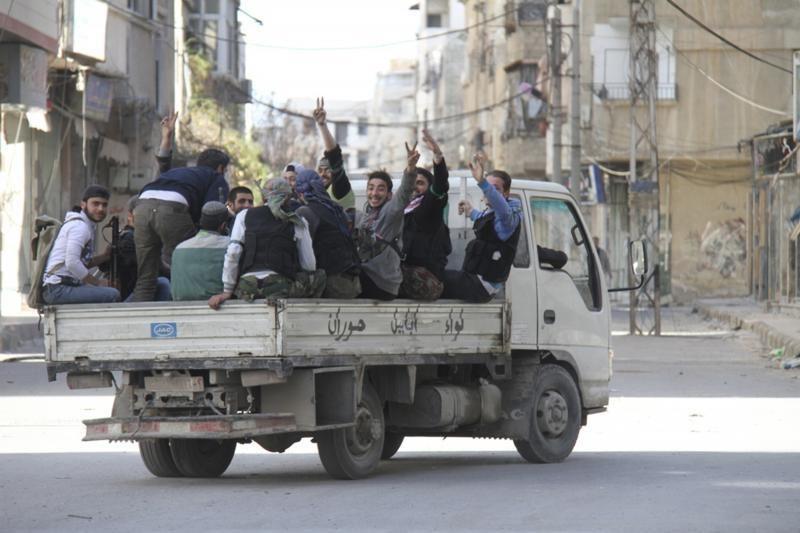 Sirijos armija atkirto ginklų tiekimo maršrutą sukilėliams