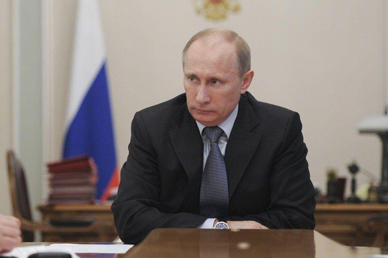 V.Putinas teigia nebijąs pasikėsinimų jį nužudyti