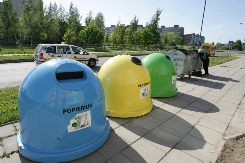 Rūšiavimą Klaipėdoje tikimasi išjudinti grojančiais konteineriais