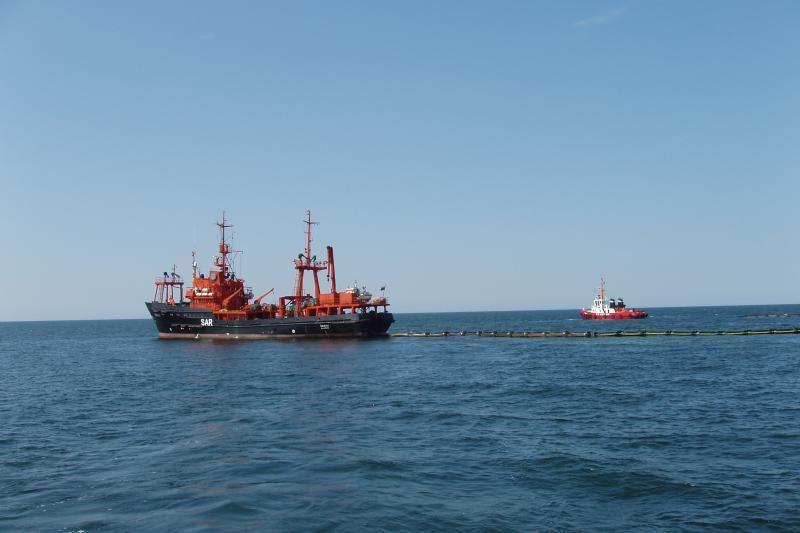 Baltijos jūroje -naftos taršos likvidavimo ir gelbėjimo pratybos