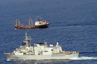 Somalio piratai pagrobė graikų laivą
