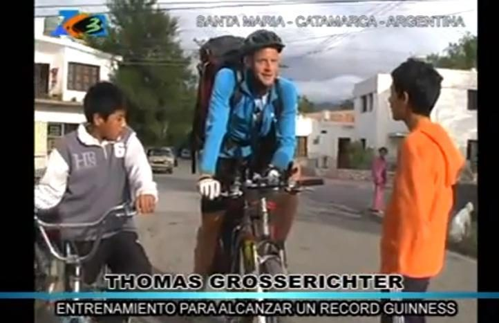 Rekordas: su dviračiu aplink žemę per 105 dienas