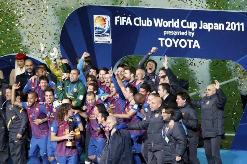 """FIFA klubų pasaulio futbolo taurės turnyrą laimėjo """"Barcelona"""""""