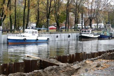 Į Danės upę išsiliejo kuras